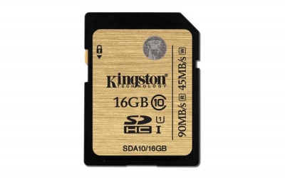 "Memóriakártya, SDHC, 16GB, Class 10, KINGSTON ""UHS-I Ultimate Card"""
