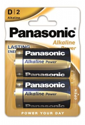"Elem, D góliát, 2 db, PANASONIC ""Alkaline power"""