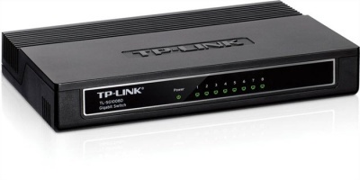 "Switch, 8 port, 10/100/1000 Mbps, TP-LINK ""TL-SG1008D"""